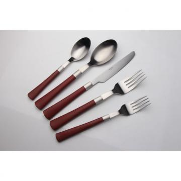 SS Cutlery Set With Plastic Handle WHL-CTP063