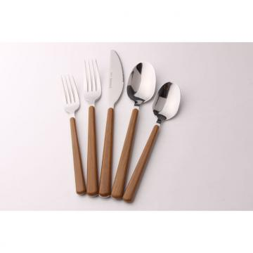 SS Cutlery Set With Plastic Handle WHL-CTP066
